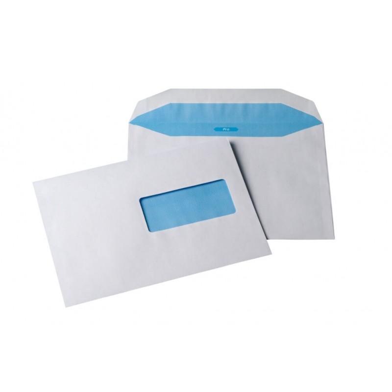 Enveloppe c5 m canisable pour machine affranchir 162x229 for Enveloppe avec fenetre