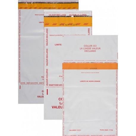 Enveloppe Sécurisée Valeur déclarée, format 340x450 mm