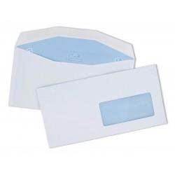 Enveloppe C6/C5 mécanisable pour machine à affranchir 114*229, fenêtre 35x100