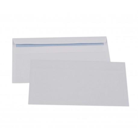 Enveloppes autoadhésives DL 110x220 sans fenêtre-boîte de 500