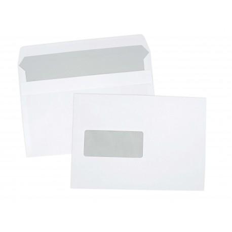 Enveloppes autoadhésives C5 162x229 avec fenêtre