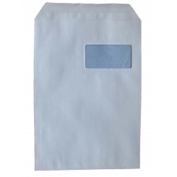 Enveloppe autoadhésive C4 229x324 avec fenêtre 50x100 mm
