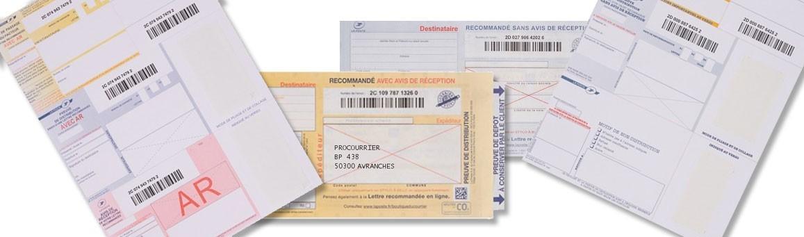 Recommandés postaux
