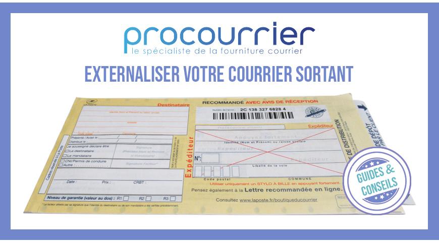 Comment externaliser votre courrier sortant